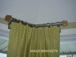 corner curtain rod home depot interior cool curtain rods home depot for curtain accessories