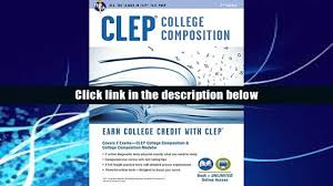 read online clep college composition book online clep test