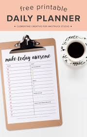 daily planner free template best 25 daily planner pages ideas only on pinterest planner no more stressing use this free printable daily planner page