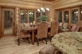 Dining Room Chairs Leather by Awesome Rustic Dining Room Furniture Photos Room Design Ideas In