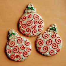 swirl ornament cookies sweet treats