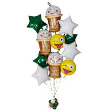 deliver balloons nyc birthday balloons grande frappy birthday
