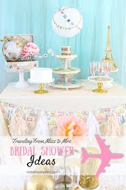 travel themed bridal shower traveling from miss to mrs bridal shower s party plan it