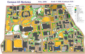 Berkeley Map Uc Berkeley Sprint Prologue September 10th 2006 Orienteering