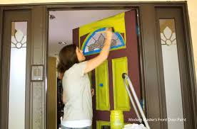 How To Paint An Exterior Door Front Door Paint Colors And How To Paint An Exterior Door
