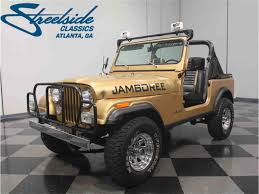 jeep 1982 1982 jeep cj7 jamboree 30th anniversary for sale classiccars com