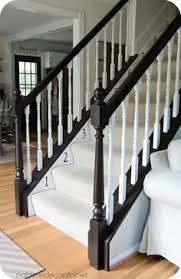 Ideas For Banisters How To Paint Stair Railings Painted Stair Railings Paint Stairs