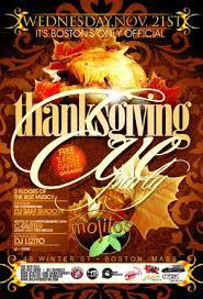 thanksgiving nightclub flyer 9 soultravelmultimedia