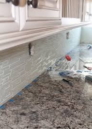 how to install glass mosaic tile backsplash in kitchen 100