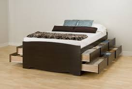 Building Platform Bed Platform Bed With Drawers Building Plans U2014 Best Home Decor Ideas