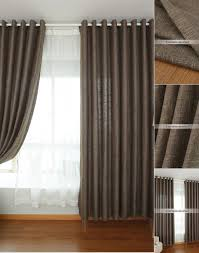 Brown Linen Curtains Solid Color Linen Curtains Sale Online Within Curtains On Sale