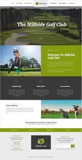 homepage designen best 25 golf websites ideas on decor crafts diy yard