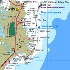 Bahama Islands Map Abaco Info Maps And More About Casuarina Point U0026 Abaco