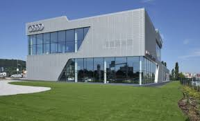 audi headquarters audi center bratislava fpd group