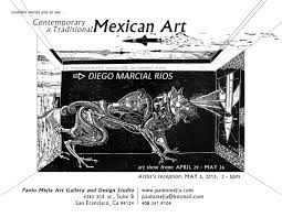 Designing An Art Studio Mexican Artwork By Diego Marcial Rios Paolo C Mejia Fine Artist