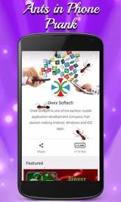 ants in phone apk ants in phone prank apk free entertainment app for