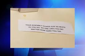 thanksgiving messages to colleagues teacher who organized anti bullying rally says she u0027s being bullied