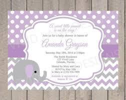 purple elephant baby shower decorations baby elephant baby shower invitations gangcraft net