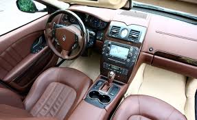 maserati quattroporte interior black view of maserati quattroporte s photos video features and