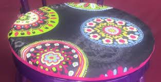 galettes de chaises rondes galettes de chaises rondes pop couture