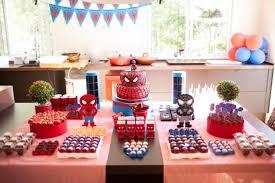 Buffet Items Ideas by Kara U0027s Party Ideas Spiderman Party Planning Ideas Supplies Idea