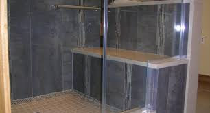 shower walk in shower with bench non resistant tile showers with
