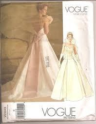 vogue wedding dress patterns vogue wedding gown sewing patterns overlay wedding dresses