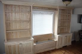 Built In Wall Units For Living Rooms by Built In Shelving Family Friendly Mudroom Features A L Shaped