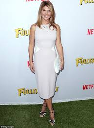 Lori Loughlin Thong - lori loughlin shows off her toned midriff and lithe limbs in