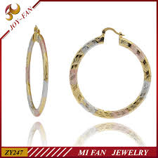 large gold hoop earrings guangzhou jewelry gold hoop earrings 14kt gold hoop earrings