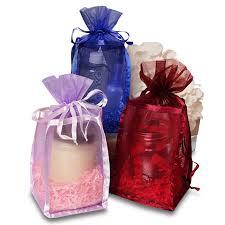 mesh gift bags mesh rectangular fabric bag