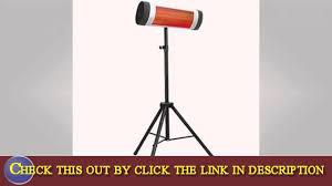 Lava Heat Italia Patio Heater by Watch Overview Of Lava Heat Italia Lhi Torano 1500w Slv El Patio