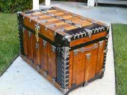 antique steamer trunk with drawers chest of drawers