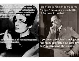 Ayn Rand Meme - ayn rand c s lewis and objectivism a faith full life