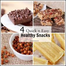 cuisine snack 4 delicious healthy snacks easy recipes