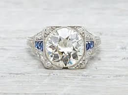 art deco diamond rings art deco style engagement rings australia