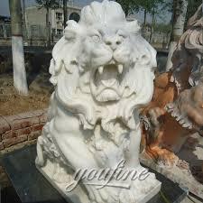 roaring lion statue roaring lion statues marble lion statues sculptures sale