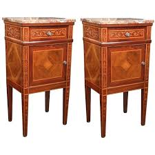 marble top bedside table marble top bedside table pair of french bedside tables with marble