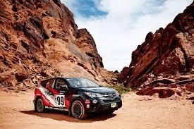 toyota rav4 racing the toyota rav4 rally car is closer to a stock car than to a race car
