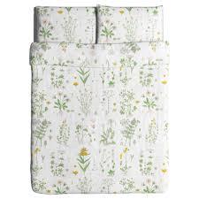 strandkrypa duvet cover and pillowcase s king ikea