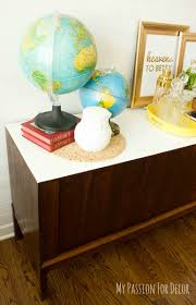 Fab Home Decor Mid Century Console From Drab To Fab Hometalk
