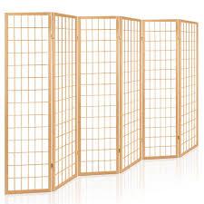 6 panel room divider 6 panel room divider natural