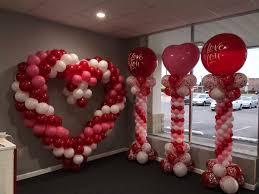 Valentines Day Balloon Decor todays balloons todaysballoons twitter