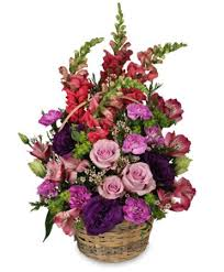 basket arrangements home sweet home flower basket basket arrangements flower shop