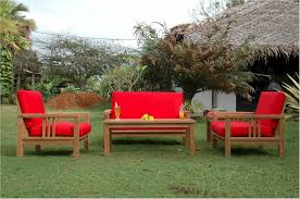 outdoor wood furniture change is strange