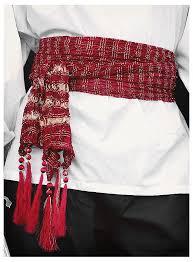 Red Sash Costume Red Sash Thevikingstore Co Uk