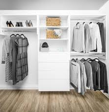 modular closets wood tall hanging closet organizer section