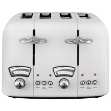 Delonghi Four Slice Toaster Buy Delonghi Argento Ct04 4 Slice Toaster White From Our