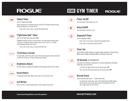 rogue echo gym timer rogue fitness