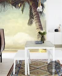 tropical diaries exotic retro wall murals pixersize com tropical palm palm trees
